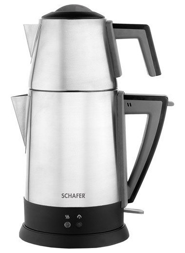 Schafer Schafer Teepoint 1800 W Çelik Çay Makinesi Renkli